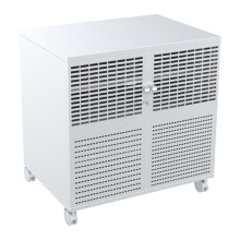 a / V Mobile Cart Lockable 3 Shelves Power Rail (MB 004A)