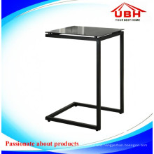 Modern Glass Coffee Bar Table