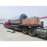 gas fired thermal oil heater