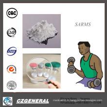 Poudres en vrac de catégorie de GMP de matières premières Sarms Sr9009 // Rad140 / Mk-677 // Lgd-4033