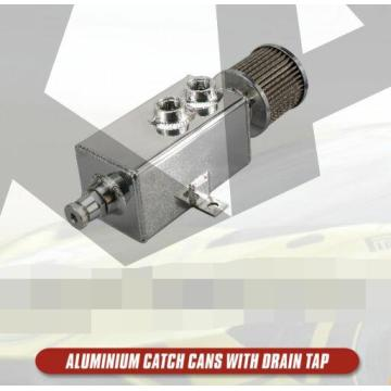 Aluninum catch cans with drain tap