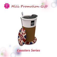 PVC Coaster Coffee Cup Mat Pad Bar Mat Factory