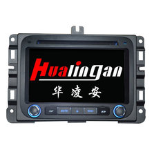 Hualingan GPS Navigation for Dodge RM 1500 Car DVD Player with 1080P HD Video Display