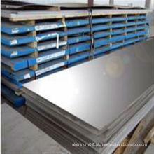 Folha de alumínio anodizado preto 7039