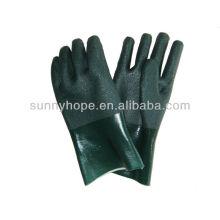 Sandig bearbeitete PVC-beschichtete Handschuhe