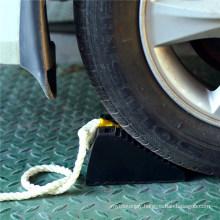 Rubber Heavy Duty Parking Wheel Chock for Truck Tire Parking Block