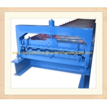 Used Trapezoid roof sheeting roll forming machine for sale