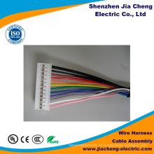 Chicote de fios personalizado do conjunto de cabo da fita