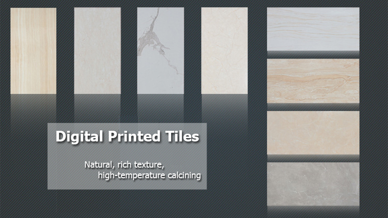 printed vitrified tiles