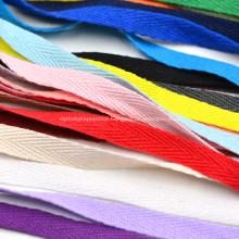 Fashion Cotton Fabric Webbing Band Ribbon