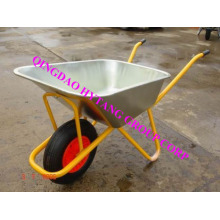 80L galvanize tray wheelbarrow