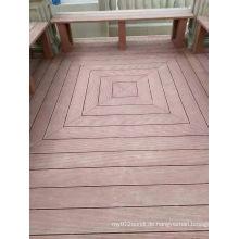 Holz-Kunststoff-Verbund-Terrassendielen und WPC-Bauvorhaben