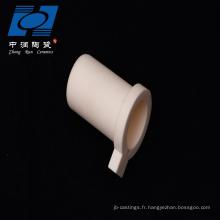 Tube en céramique réfractaire résistant à la chaleur de 99 tubes d'alumine pour le cylindre
