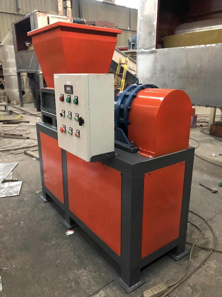 plastic bottle crusher machine