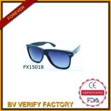 2015 handgemachte Oversize Holzsonnenbrille (FX150018)