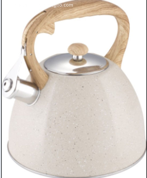 Marble coating water  kettle