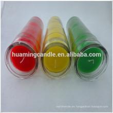 Velas perfumadas del logotipo de encargo