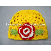 newest knitting cap crochet hat for baby