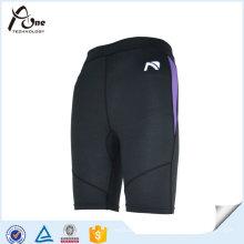 Mens Spandex de poliéster gimnasio corriendo pantalones deportivos