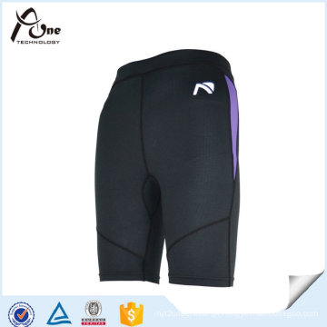 Mens Polyester Spandex Gym corrida Shorts Sports