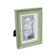 Frame verde da foto para a decoração Home