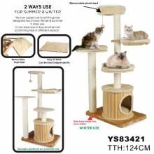Deluxe Cat Tree, Cat Tree Scratcher (YS83241)