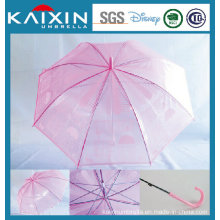 Munual Open Poe Straight Umbrella Plastic Umbrella