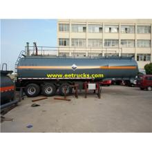 Tri-axle 32000L Hydrogen Peroxide Trailers Tanker