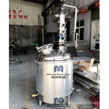 Destilador de alcohol casero de 100L 200L con columna de flauta de cobre