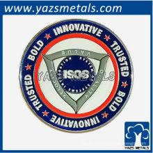 Moeda de lembrança personalizada com logotipo de design exclusivo personalizado