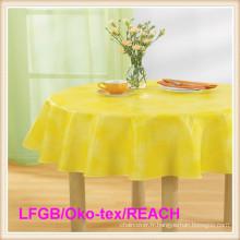 Tissu de table de PEVA pour le mariage / partie / banquet / pique-nique
