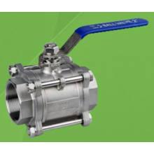 3 шт 1000 ВОГ Metaled сидит нержавеющей стали с резьбой шаровой Клапан (Q11H)