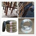 Panneau galvanisé par électro de treillis soudé par électro usine de travail pour des fils de construction et de fil recuit par noir recuit
