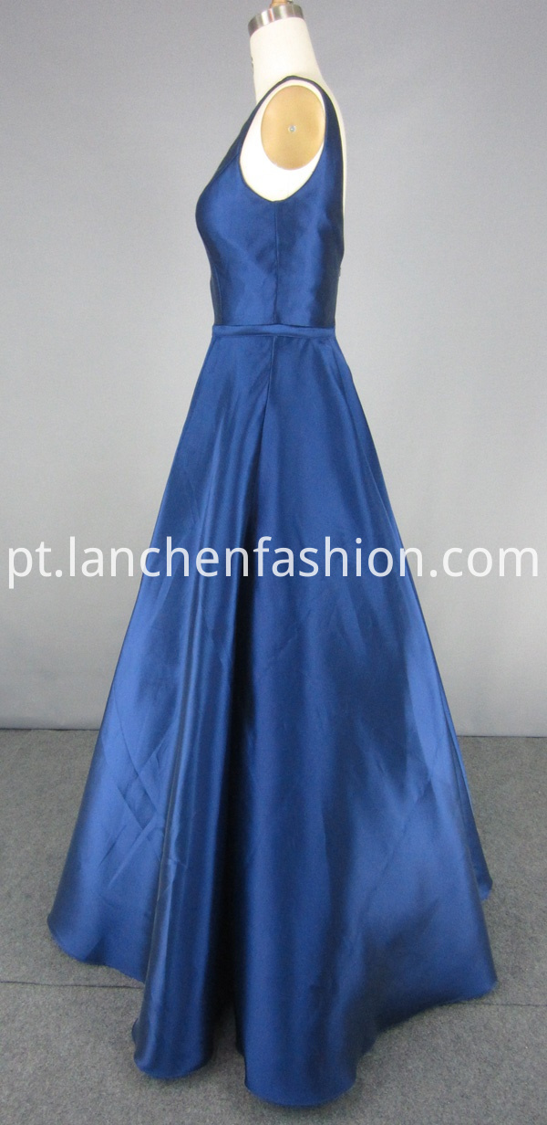 Navy Ball Gown