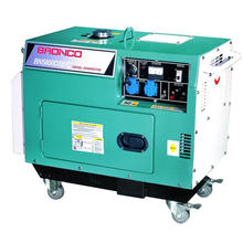 (3KW/4KW/5KW single/three phase) Rated Power 4.2kw, 220V Air Cooled Diesel Generator (Silent type)