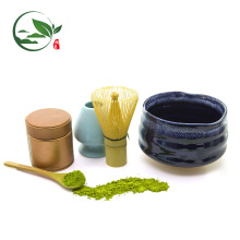 Ensembles adaptés aux besoins du client de cérémonie en verre de cuvette de Matcha comprenant le support de fouille de scoop de cuvette