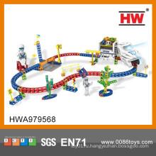 Интересные слот машины головоломка поезд трек игрушки дети игрушечные автомобили гоночный трек