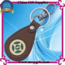 Porte-clés en cuir pour cadeau (E-LK04)
