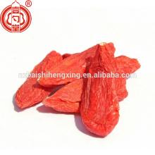 Ningxia zhongning wolfberry importation baies de goji en vrac emballage