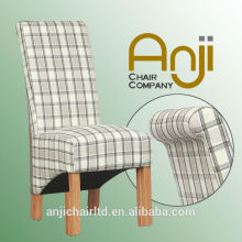 2015 Newest Wood Dining Chairs In Fabric for Restaurant and Hotel