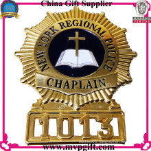 Bespoken Metal Police Badge with 3D Logo