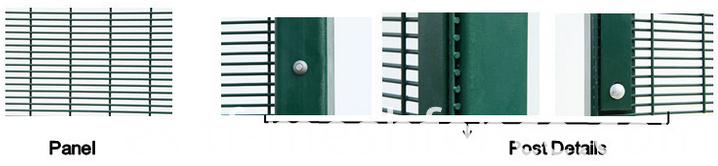 358 anti climb fence,high security fence-56