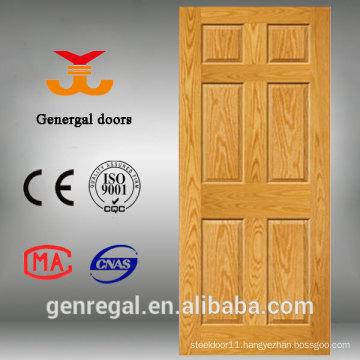 Painted interior bedroom wood panel skin door