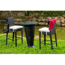 Hottest design PE Rattan Outdoor Furniture Coffee table and Chairs set
