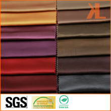 Polyester Wide Width Inherently Fire/Flame Retardant Fireproof Satin Fabric
