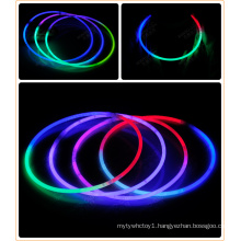 Tri-color party glow necklace (XLT5580-3)