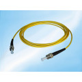 3m 3.0mm St-St PVC Simplex Sm Fiber Optic Patch Cord