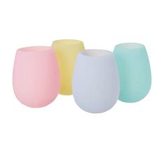 Food Grade Silicone Drinkware Pastel  Cups