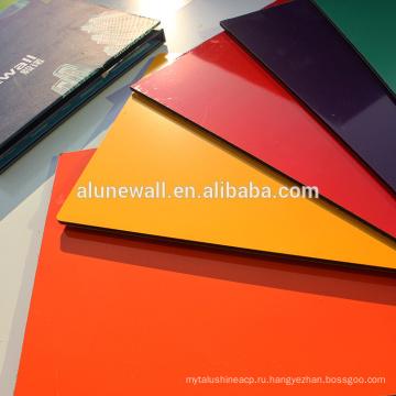 ФЕВЕ покрытие глянцевый Цвет алюминиевые композитные панели для наружной рекламы