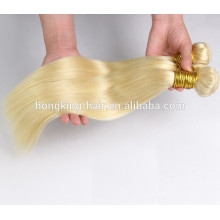 wholesale price top quality human hair weave blonde remy hair extension